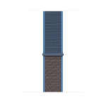 Apple MXMW2ZM/A smartwatch accessory Band Blau, Braun Nylon