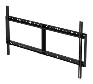 "Peerless SF680-HUB flat panel wall mount 2.13 m (84"") Black"