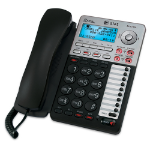 AT&T ML17939 telephone Analog telephone Caller ID Black, Silver