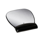 3M 70005008746 mouse pad Black,Silver