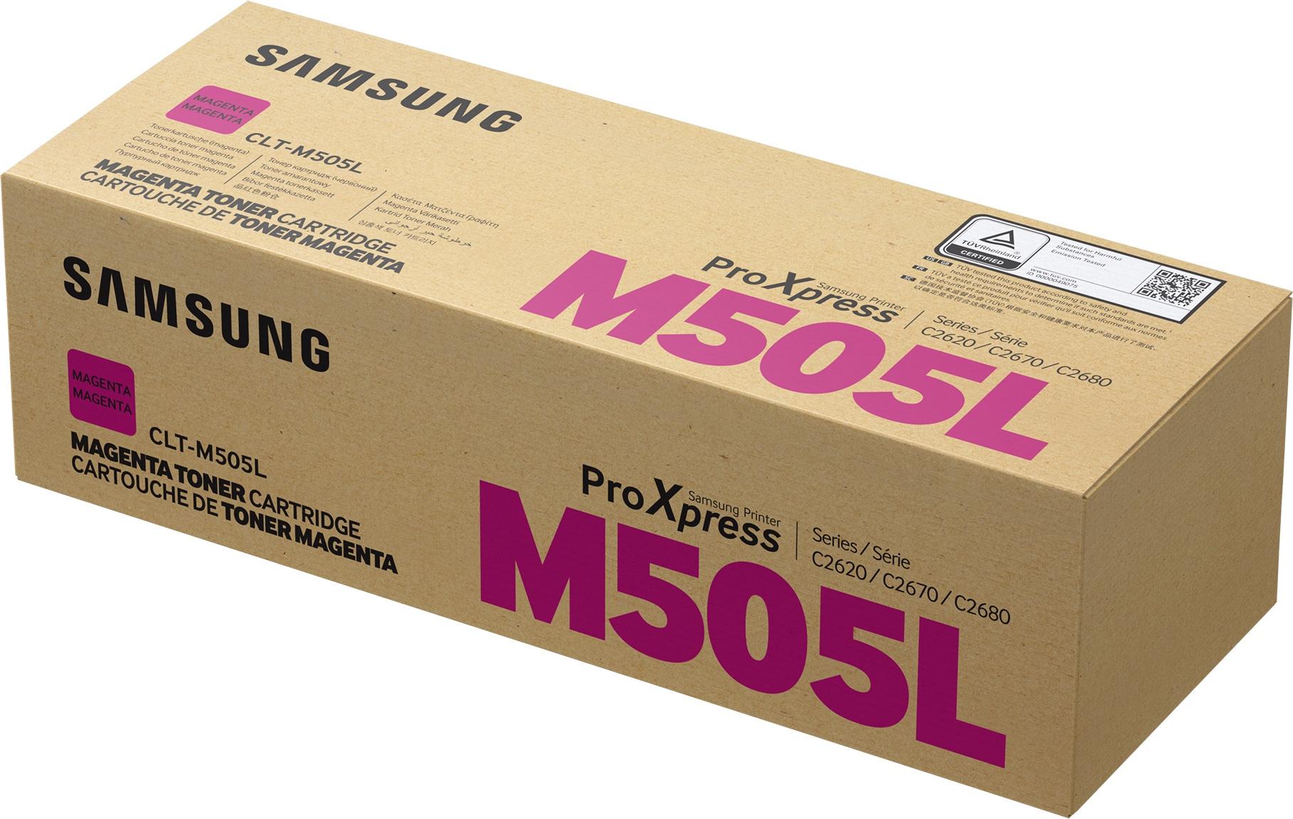 Samsung CLT-M505L Original Magenta 1 pieza(s)