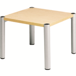 Avior Beech 635x635x460mm Square Table KF03531