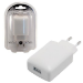 MCL PS-5DC/USB-2AWZ cargador de dispositivo móvil Interior Blanco