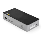 StarTech.com Dual HDMI Monitor USB-C Docking Station with 60W Power Delivery