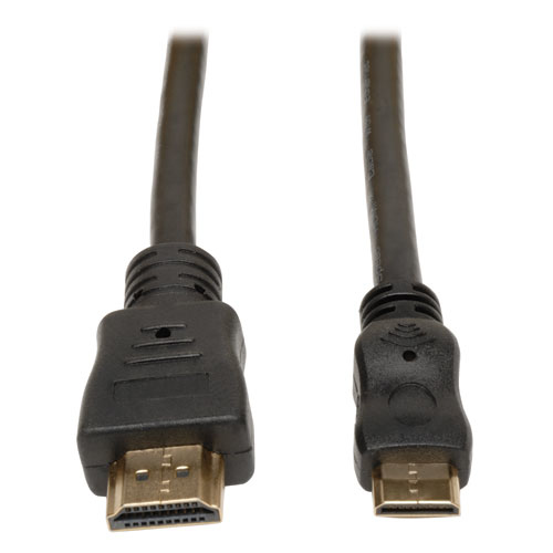 Tripp Lite HDMI to Mini HDMI Cable with Ethernet, Digital Video with Audio Adapter (M/M), 0.91 m (3-ft.)