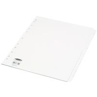 Concord Divider E/Wide 10Pt White 78