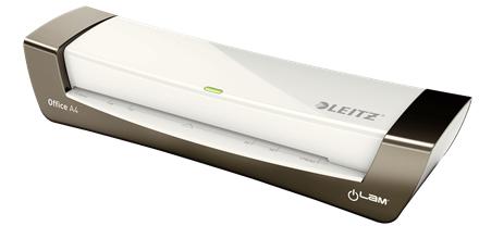 Leitz iLAM Laminator Office A4 Hot laminator 400 mm/min Silver,White