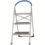 VFM 3 Tread Stepladder White 359294