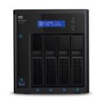Western Digital My Cloud EX4100 NAS Desktop Eingebauter Ethernet-Anschluss Schwarz Armada 388