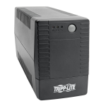 Tripp Lite Line Interactive UPS, C13 Outlets (4) - 230V, 650VA, 360W, Ultra-Compact Design