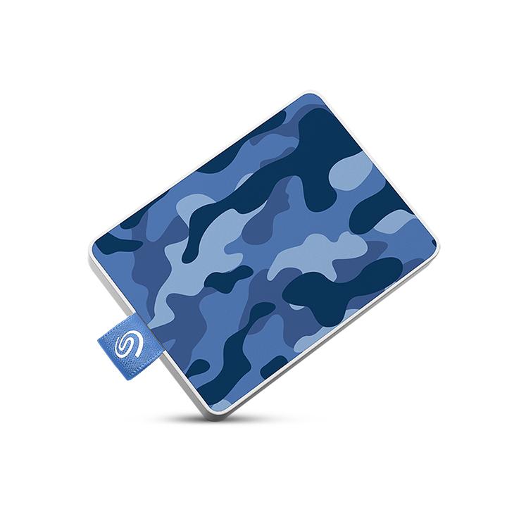 Seagate STJE500406 external hard drive 500 GB Blue,Camouflage