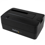 StarTech.com SDOCKU313 USB 3.1 (3.1 Gen 2) Type micro-B Black storage drive docking station