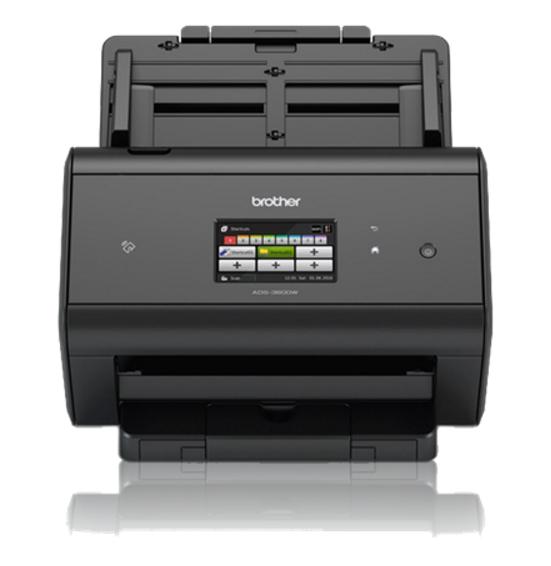 Brother ADS-3600W ADF scanner 600 x 600DPI A4 Black scanner