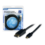 Innovation IT 5A 602725 DISPLAY DisplayPort cable 2 m Mini DisplayPort Black