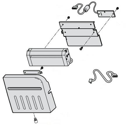 Intermec 1-207109-801 Label printer Cutter