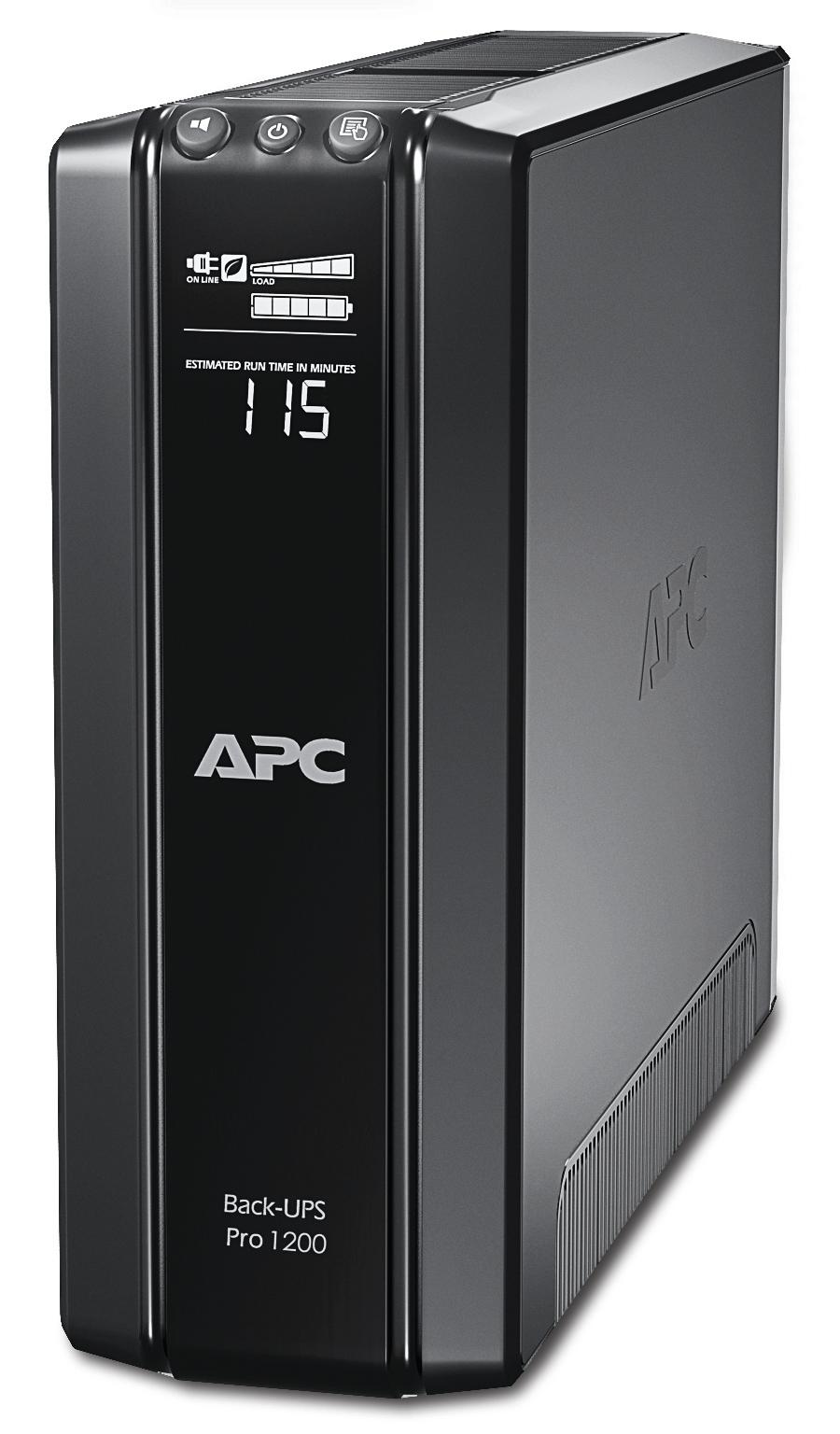 APC Back-UPS Pro sistema de alimentación ininterrumpida (UPS) Línea interactiva 1200 VA 720 W 10 salidas AC