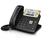 Yealink T23GN Wired handset 3lines LCD Black IP phone