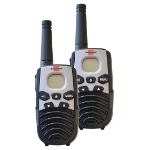 Brennenstuhl 1290940 two-way radio 8 channels Black, Silver