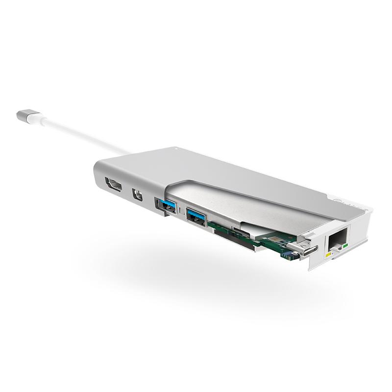 Ultra USB-C Dock PLUS - 2 x USB-A (USB 3.0); 1 x USB-C (Data/PD 100W)