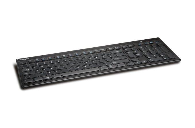 Advance Fit Slim Wireless Keyboard Black Qwerty Uk