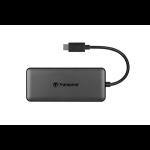 Transcend HUB5C USB 3.2 Gen 2 (3.1 Gen 2) Type-C Black
