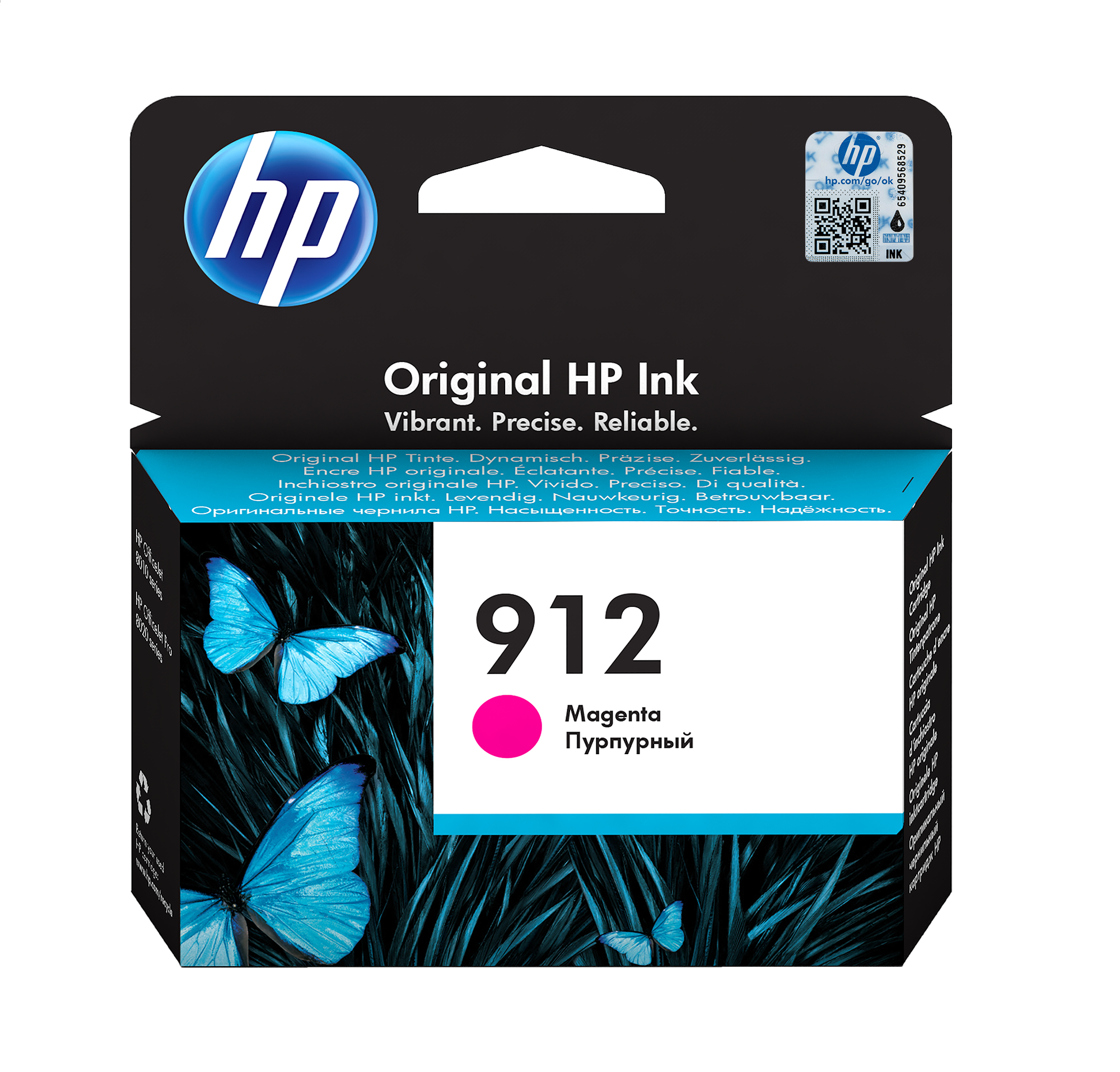 HP 912 Origineel Medium magenta 1 stuk(s)