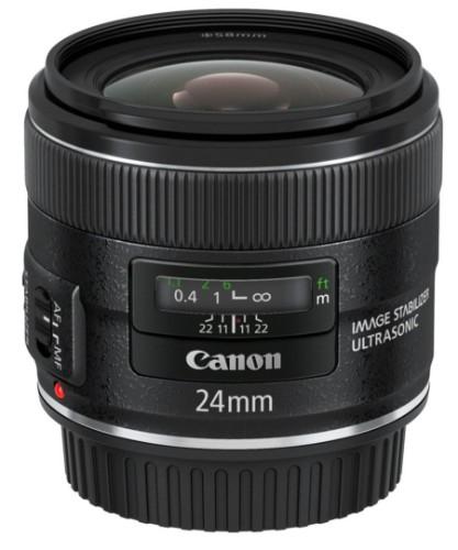 Canon EF 24mm f/2.8 IS USM MILC Wide lens