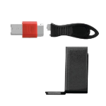Kensington K67914WW Black,Red cable lock