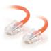 "C2G Cat5e, 25ft. networking cable 300"" (7.62 m) Orange"
