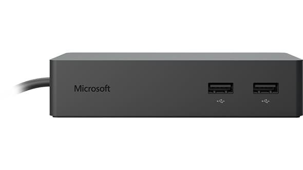 Microsoft Surface Dock estación dock para móvil Tableta Negro