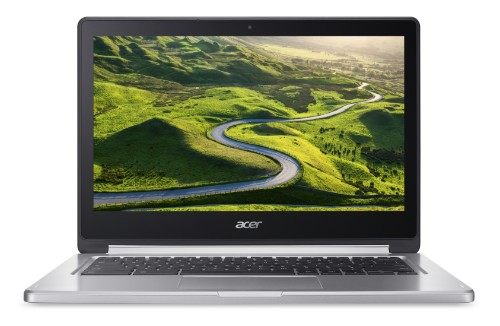 Acer Chromebook R 13 CB5-312T-K1TR Black,Silver 33.8 cm (13.3