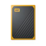 Western Digital My Passport Go 2000 GB Black, Yellow