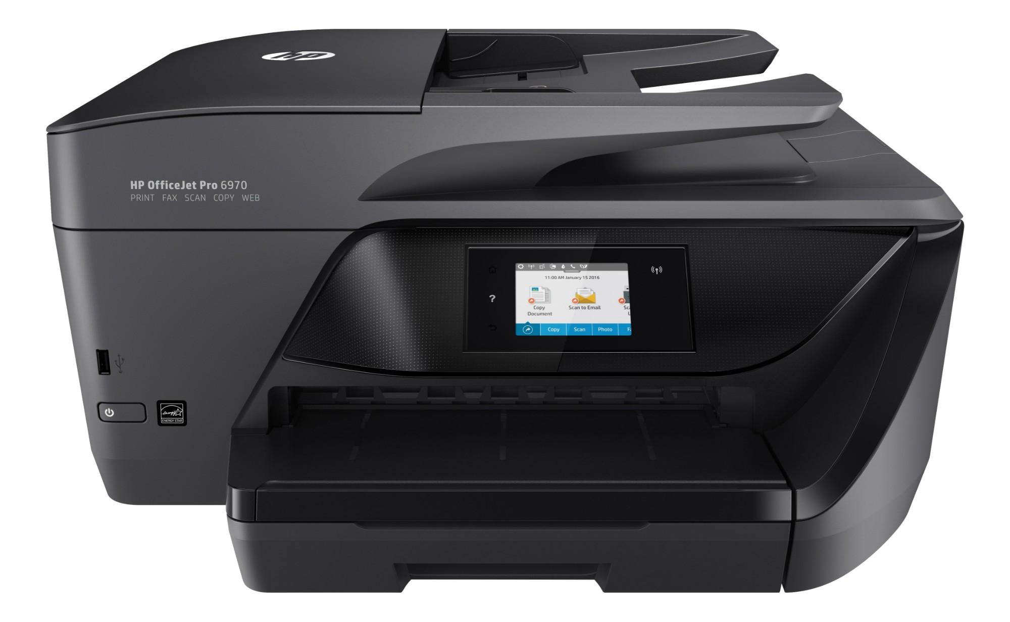 HP OfficeJet Pro 6970 Thermal Inkjet 20 ppm 600 x 1200 DPI A4 Wi-Fi