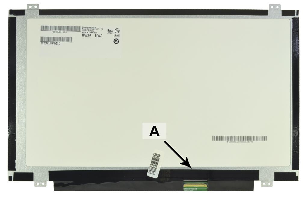 2-Power 14.0 WXGA HD 1366x768 LED Glossy Screen - replaces 609950-001
