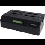 StarTech.com SATDOCK4U3RE media duplicator HDD duplicator 3 copies Black