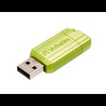 Verbatim Store 'n' Go PinStripe 16GB USB 2.0 USB Type-A connector Green USB flash drive