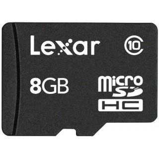 Lexar LSDMI8GBABEUC10A 8GB MicroSDHC Class 10 memory card