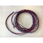 Cisco IR829-DC-PWRCORD power cable Black/Red 3.81 m