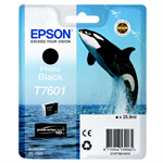 Epson C13T76014010 (T7601) Ink cartridge bright black, 26ml