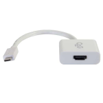 C2G USB 3.1 USB C to HDMI Audio/Video Adapter - USB Type C to HDMI White
