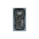 Casio 10477469**YT-130 XJ-Axx2 and xx7 series remote controller