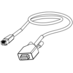 Datamax O'Neil 502542 RS232 RJ45 serial cable