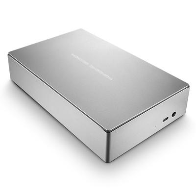 LaCie Porsche Design Desktop Drive external hard drive 8000 GB Silver