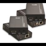 VivoLink VL120007 AV extender AV transmitter & receiver Black