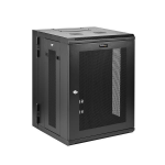 StarTech.com 15U Wall-Mount Server Rack Cabinet - 16.1 in. Deep - Hinged