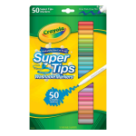 Crayola 50 CT. SUPER TIPS Multi 50pc(s) paint marker