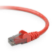 Belkin CAT6 Snagless 2m 2m Red