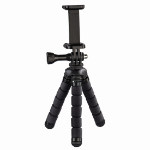 Hama Flex tripod Smartphone/Action camera 3 leg(s) Black,Red