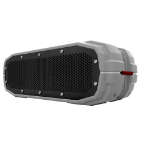 Braven BRV-X Stereo Waterproof, Bluetooth 3.0, Micro-USB, 3.5mm Aux portable speaker Grey