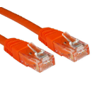 Cables Direct UTP Cat6 2m 2m Cat6 U/UTP (UTP) Orange networking cable